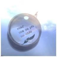 pingente voar em prata